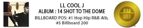 LL Cool J 14 shots gld