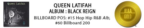QUEEN Latif Blk Reign gold